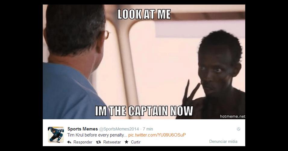 """""""Olhe para mim, eu sou o capitão agora"""". Tim Krul salvou a Holanda e virou meme"""
