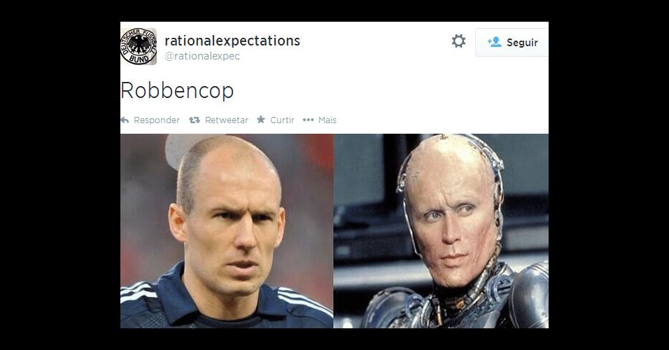 "Robben virou ""Robbencop"""