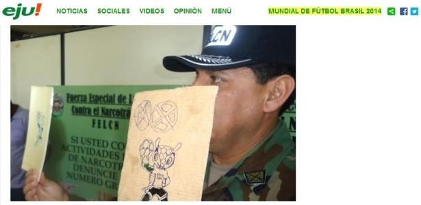 Droga era produzida em uma cidade próxima à Santa Cruz, na Bolívia
