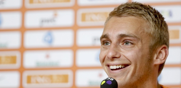 Jasper Cillessen, do Ajax, tem acertado vínculo por cinco anos com o Barça - EFE/EPA/KAMIL KRZACZYNSKI