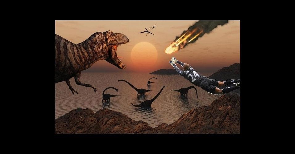 Howard salvaria até os dinossauros com suas defesas