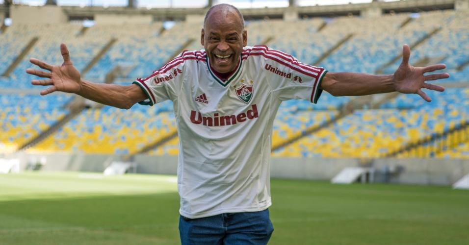 Ídolo do Fluminense, Assis morreu neste domingo após sofrer com problemas nos rins