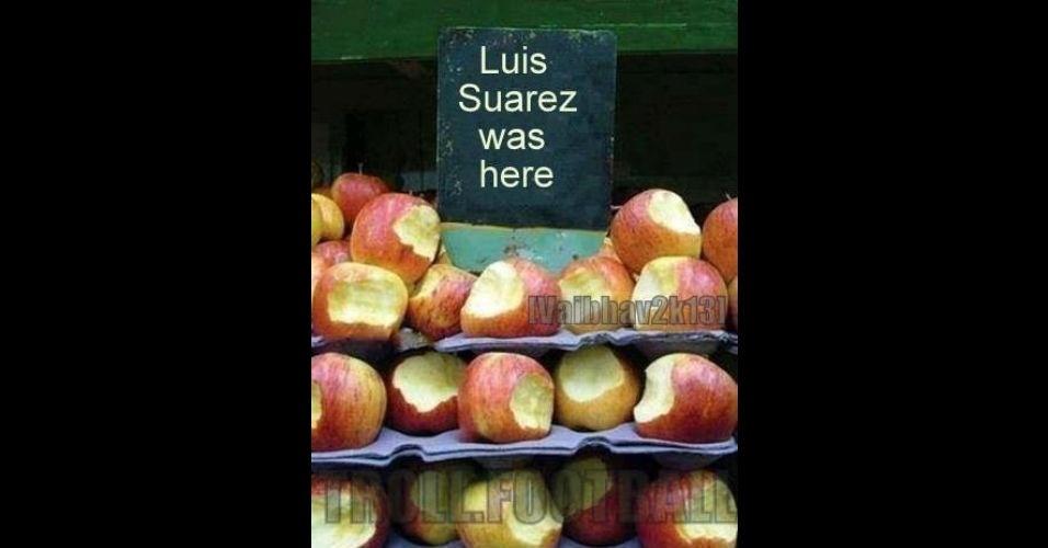 Luis Suárez esteve aqui...