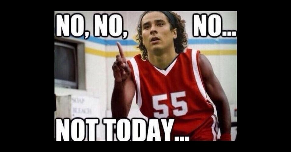 """""""Não. Hoje não"""" - Ochoa diz para os adversários"""