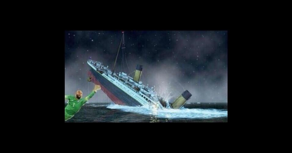 Nem o Titanic afundaria com Howard por perto