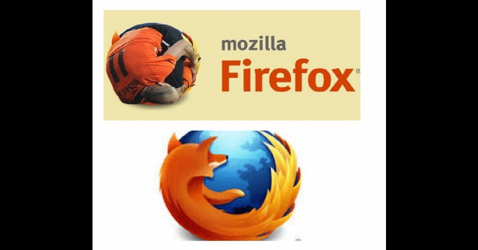 Novo símbolo do Firefox