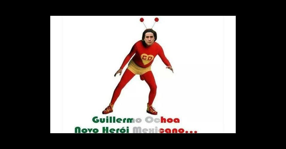 O novo herói mexicano