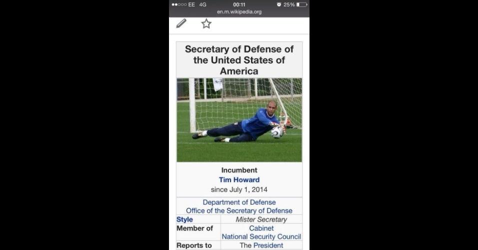 Os Estados Unidos têm um novo Secretário de Defesa