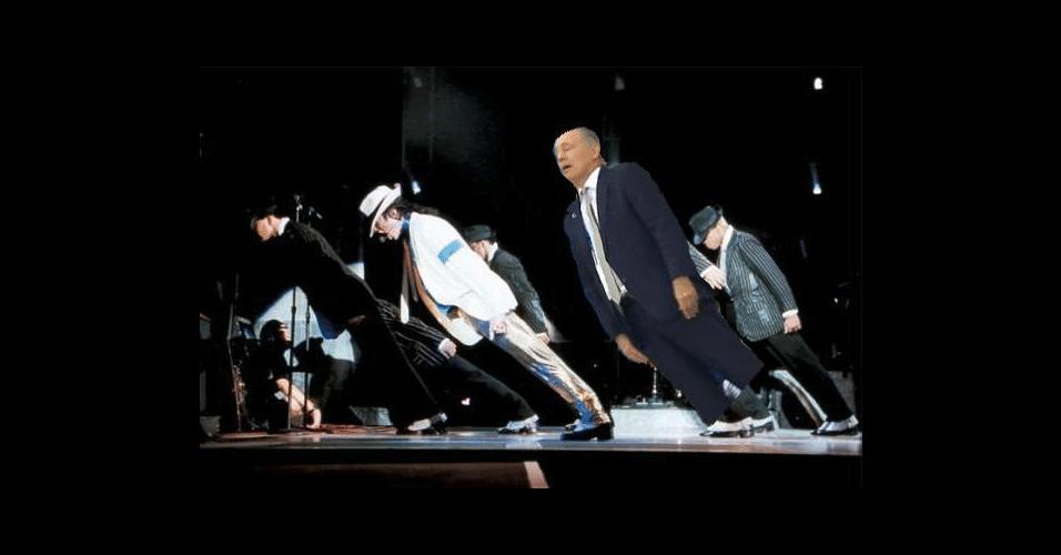 Participação em show de Michael Jackson