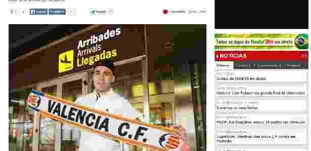 Argentino Otamendi se apresenta ao Valencia e frustra Atlético-MG ... e6d9cbdde8714