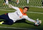Krul não será titular da Holanda apesar de defesas em pênaltis, diz técnico - Pilar Olivares/Reuters