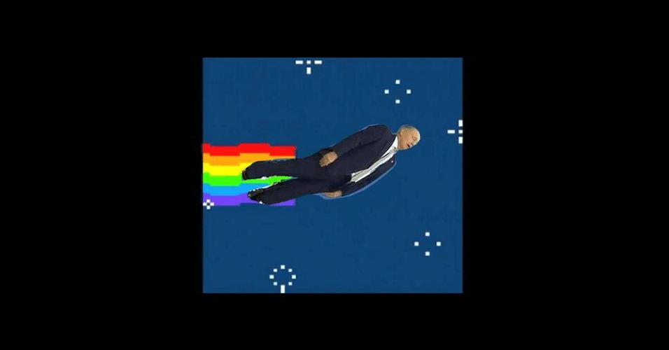 Treinador a caminho do espaço