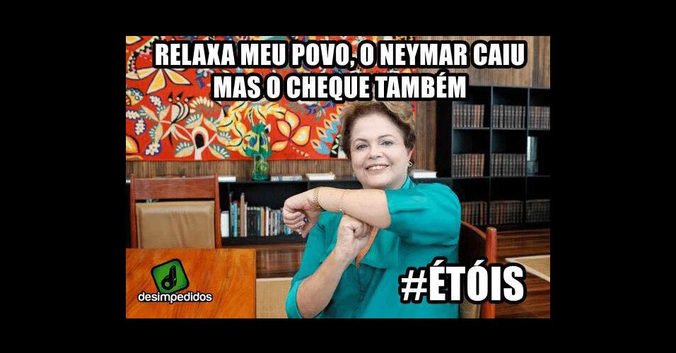 Dilma já garantiu a Copa pro Brasil