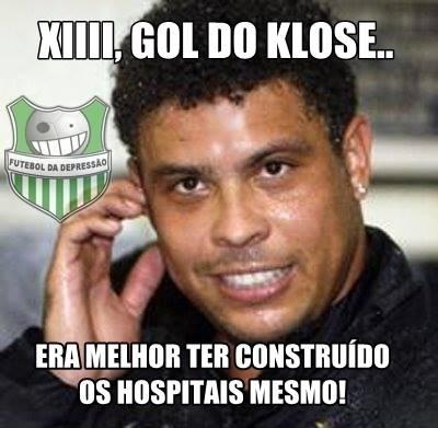 Depois de ter seu recorde quebrado por Klose, Ronaldo repensa frase sobre estádios e hospitais