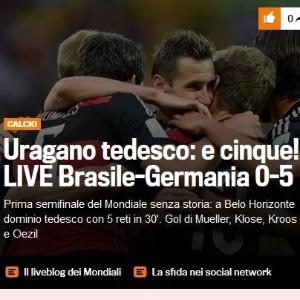 Reprodução/Gazzetta Dello Sport