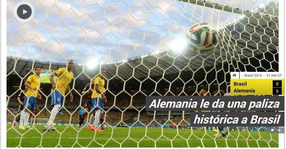 Jornal argentino Clarín fala em 'espancamento histórico' da Alemanha sobre o Brasil