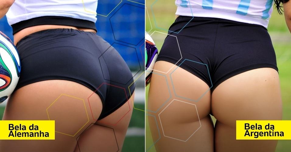 Alemanha e Argentina ficam frente a frente também no Belas do Mundial