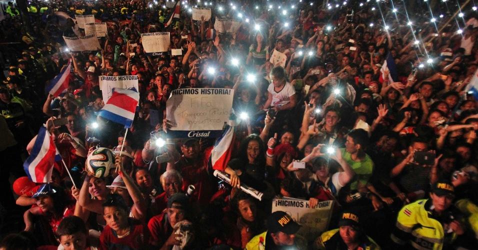 A festa foi até a noite desta terça-feira na Costa Rica
