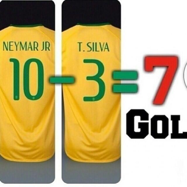 A matemática explica o vexame do Brasil