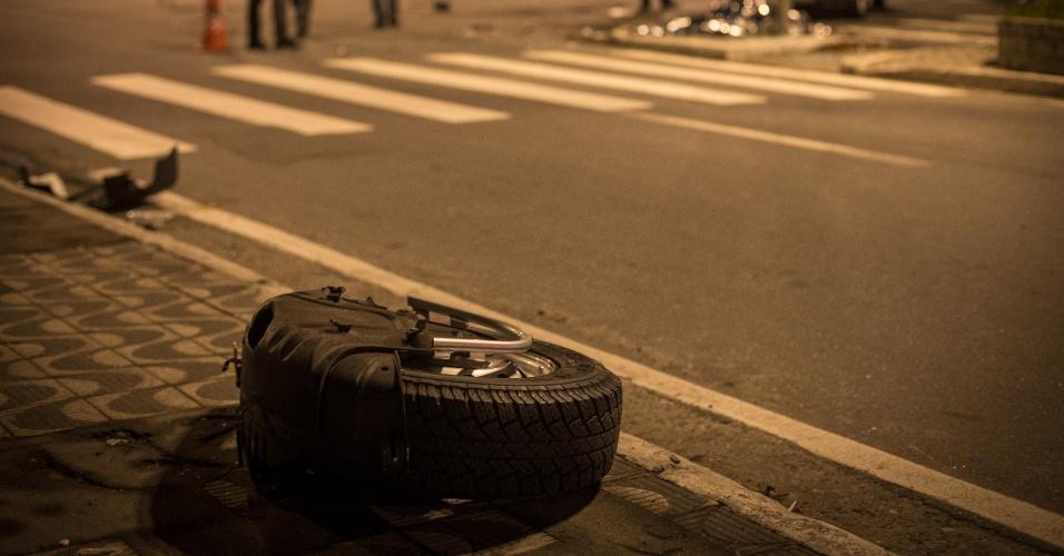 Acidente de trânsito matou o jornalista argentino Jorge Luis Lopez, de 38 anos, em Guarulhos; a batida aconteceu por causa de uma perseguição policial