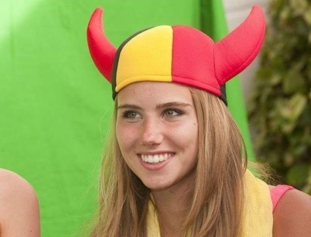 Axelle Despiegelaere, a torcedora belga que virou modelo
