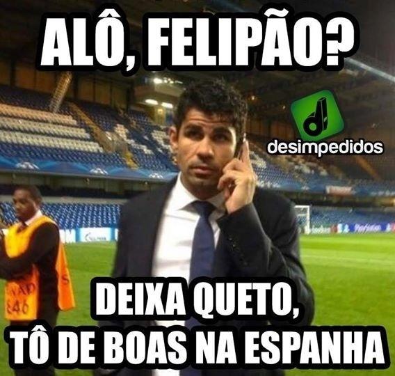 Depois dessa o Diego Costa vai ficar na Espanha mesmo