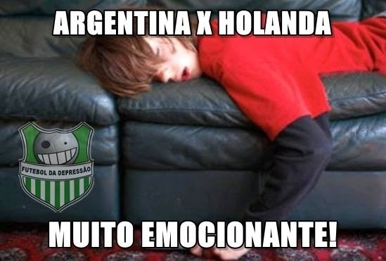 Holanda x Argentina: é muita emoção (ou sono) para um jogo só