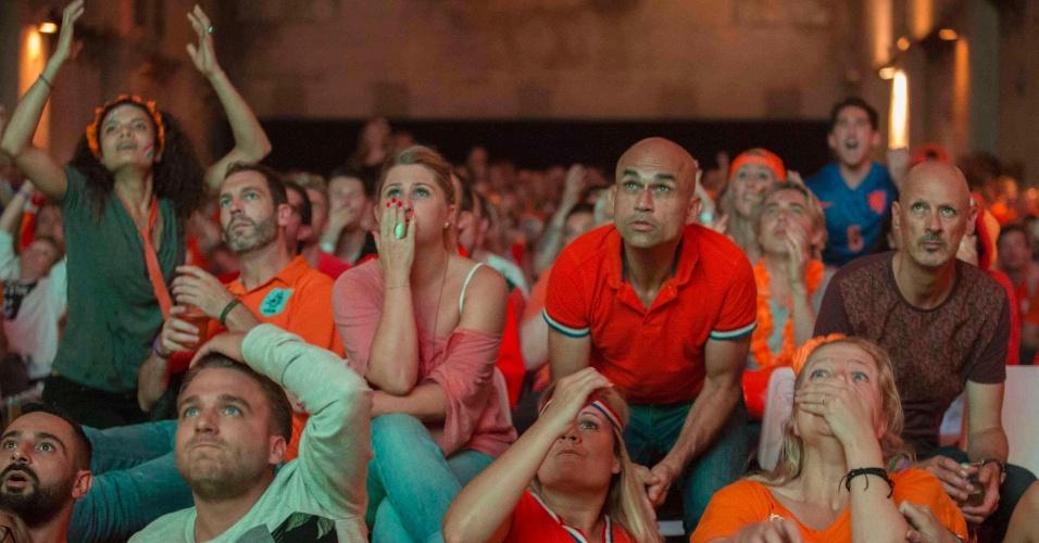 Holandeses sofrem em Amsterdã com partida contra a Argentina pelas semifinais da Copa do Mundo