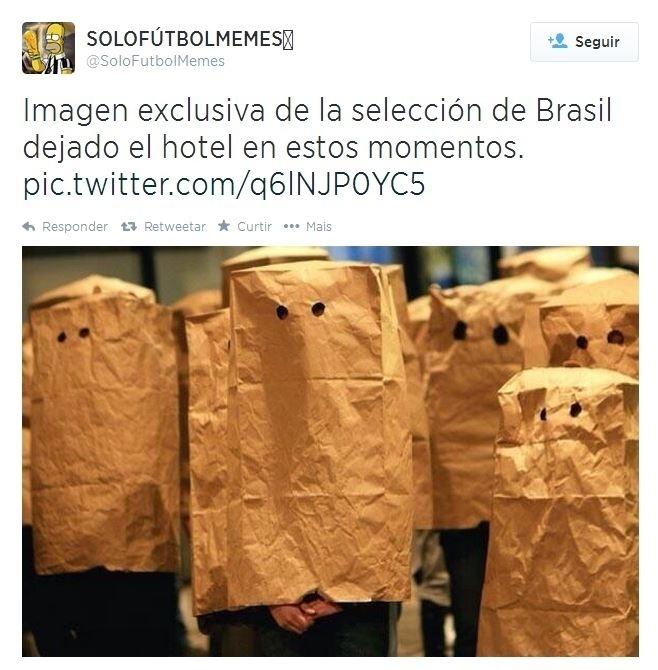 Imagens dos jogadores brasileiros deixando o hotel
