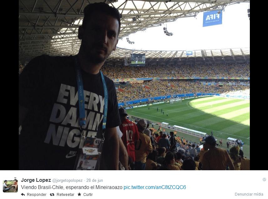 Jorge Luis Lopez, jornalista argentino de 38 anos, morreu em acidente de trânsito em Guarulhos