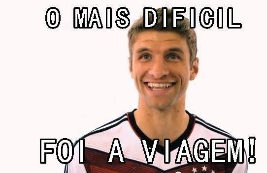 O que foi mais difícil na Copa, Müller?