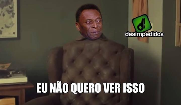 Pelé não quer mais ver a Copa. Já o Maradona...