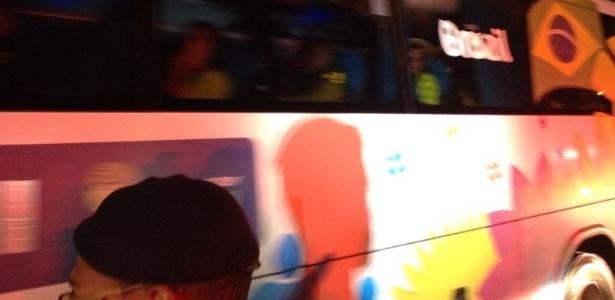 Seleção chega à Granja Comary após o vexame na semifinal da Copa do Mundo
