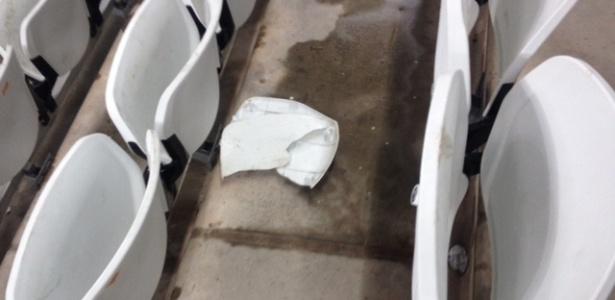 Itaquerão já teve mais de 800 cadeiras quebradas desde a inauguração