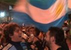 Aos poucos, argentinos tomaram conta de bairro boêmio em SP após vitória - Vinicius Andrade/UOL