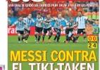 O dia das seleções estrangeiras na Copa (10/07) - AP Photo/Victor R. Caivano