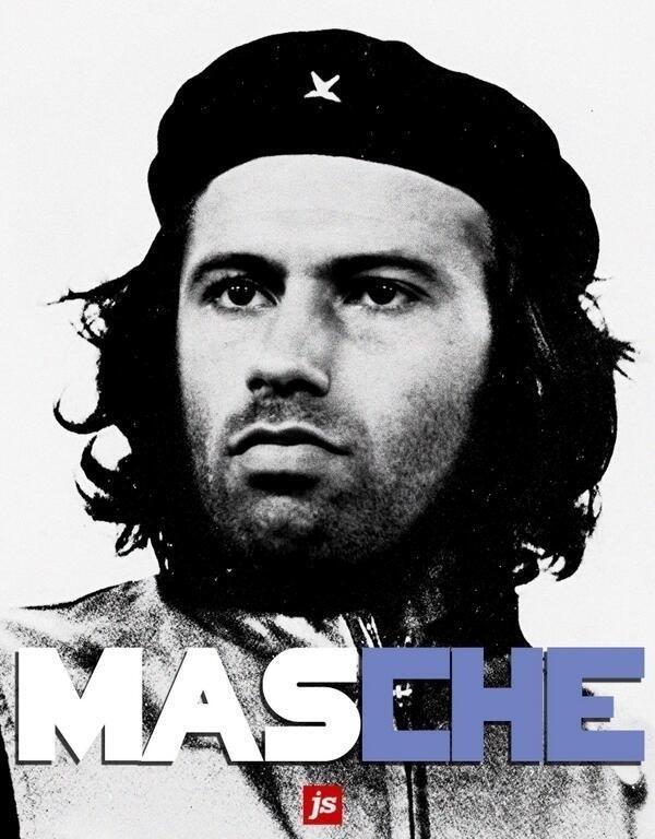 MasCHErano, o comandante das forças argentinas na Copa