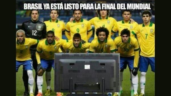O Brasil já está escalado para a final da Copa