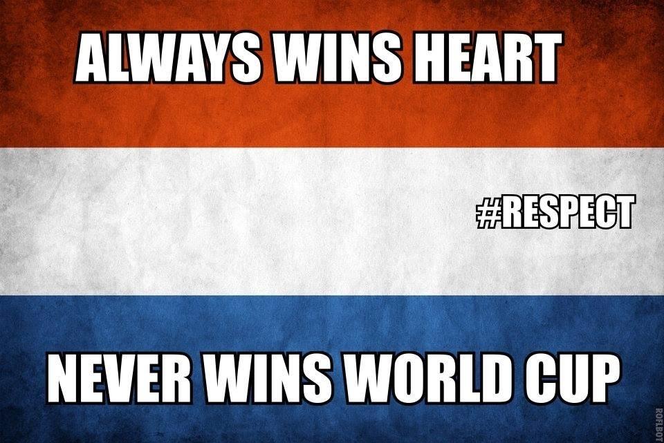 Sempre ganha corações. Sempre perde a Copa