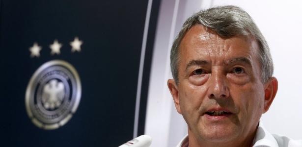 Wolfgang Niersbach, presidente da Federação de Futebol Alemã