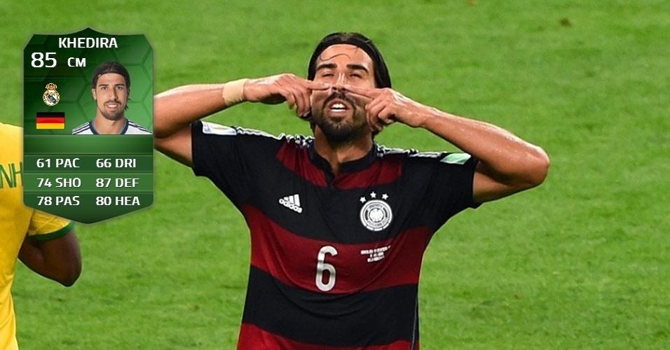 Alemanha 7 x 1 Brasil: Sami Khedira (84 para 85)