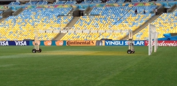 O gramado do Maracanã um dia antes da final da Copa do Mundo 6 fotos 59a7737f681c4