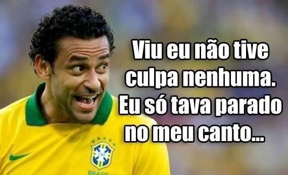 Dessa vez, Fred não teve culpa na derrota do Brasil