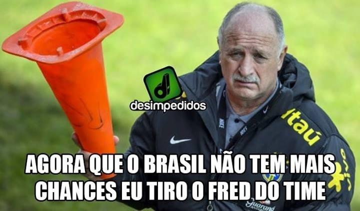 Felipão mudou o time no último jogo