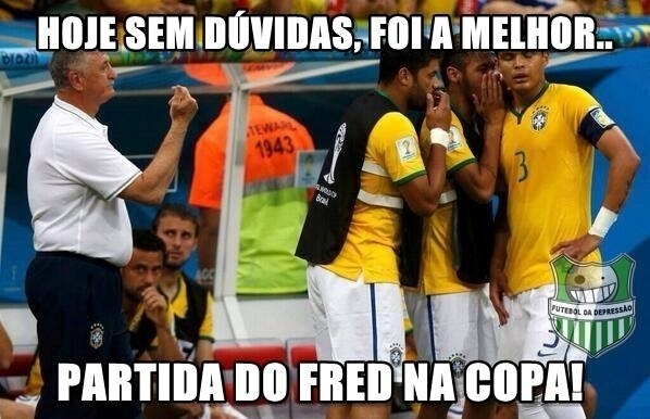 Fred teve ótima atuação nessa partida, dizem torcedores