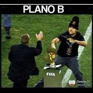 Internautas já montam 'plano B' para levar o troféu