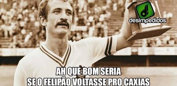 Internautas já pedem técnico do Brasil de volta ao Caxias