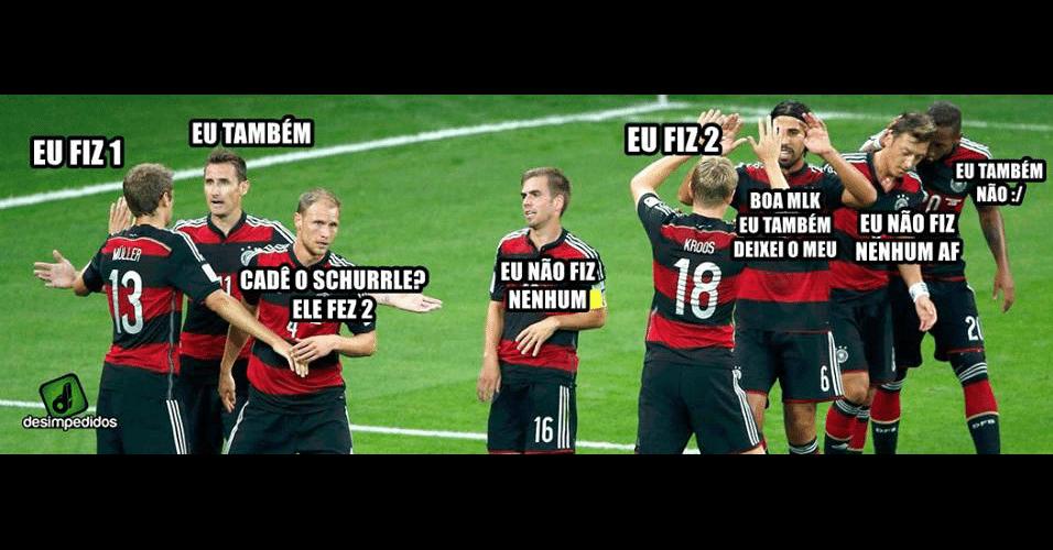 Muita gente fez gol no Brasil