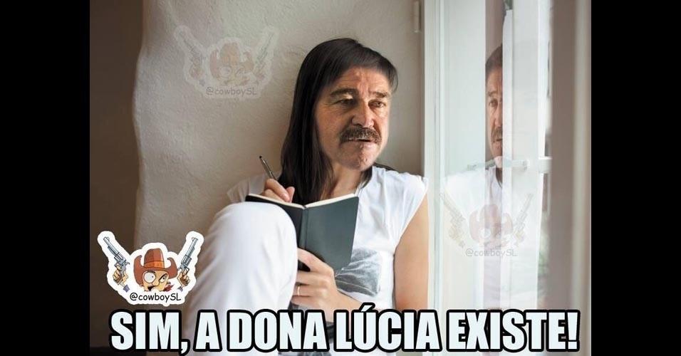 """Revelada a verdadeira identidade da """"Dona Lúcia"""""""