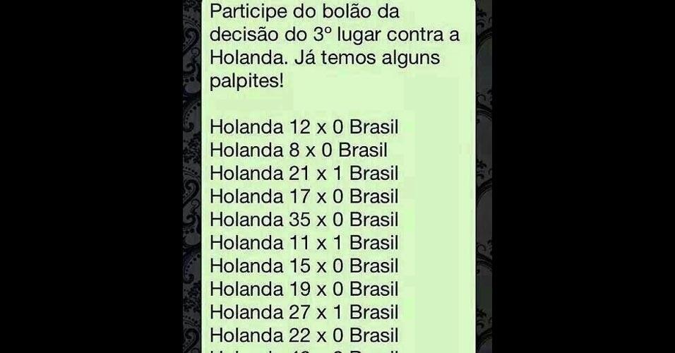 Torcedores arriscam palpites ousados para Brasil x Holanda